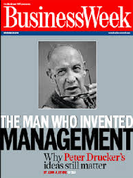 Good management originates with managers who have learned to manage themselves before they manage anything else.