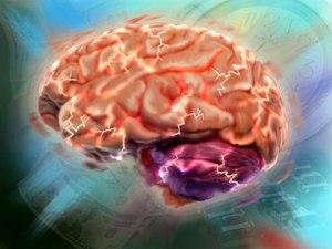 Stressad hjärna